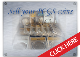 we buy and sell pcgs coins